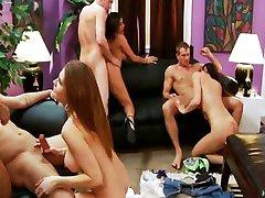 Damn hot orgy