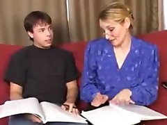Milf Tutor Does Her Student