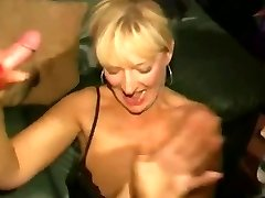 Dirty angleški kurba - Bukkake stranka 04
