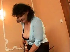 THREESOME ITALIAN MATURE TROIA ORGY BBW takes hard cock in the ass all the way