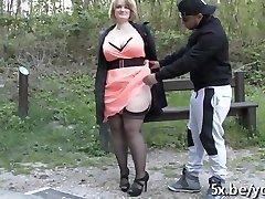 Francoski milf Sophia sodomyzed za 2 fantje