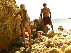 Celia Blanco - Beach Orgie