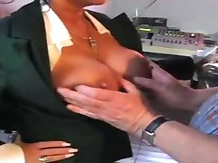 WORLD NYLONS Lady show tits