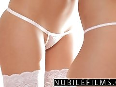NubileFilms - Hottest friends lesbian seduction