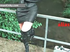 Kinky Carmen enjoys having fun in latex part6