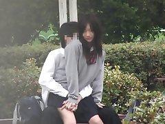 Erotische Voyeurismus - Minderheit-Student Public sex VOL.4