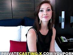 Private Casting X - Moje první přírodní červené vlasy kočička