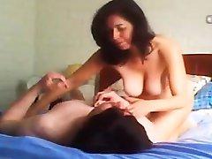Mom hidden cam happy having sex Tonie from 1fuckdatecom