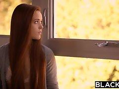 BLACKED Redhead Kimberly Brix First Big Black