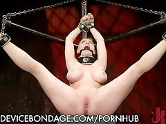 Chained Slut Made To Scream