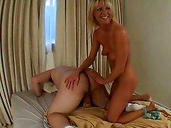 Insane Ashley blows phat dick