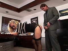 Assistant fucked in office