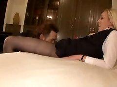 tights stewardess fucked hard