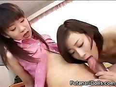 Young Futanari Childminders!