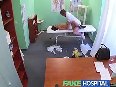 FakeHospital Foreign patient with no health insurance pays the pussy price