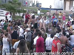 wet t shirt contest real amateur coeds college spring break