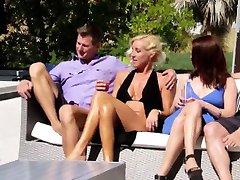 Amateur swingers reality show pieprzony grupową orgię