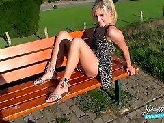 Allmänna Creampie Extremt Riskabelt! Blond Tyska Schnuggie91
