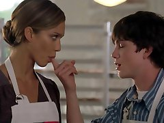 Jessica Alba bok Bill (sisanje palca) 2x