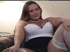 Belle Jilling Off BBW fat bbbw sbbw bbws bbw porn plumper esponjoso corridas corrida, gordita