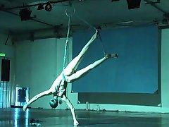 ballerina shibari itsensä orjuudesta ja jousitus