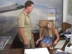 Ciera is a sexy secretary