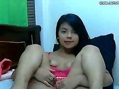 Morena latina da WebCam, gostosa