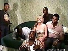 Black Group Sex White
