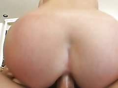 Anal with blonde Riley Shy