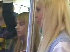 Foreign School girls Get fucked on a Bus in Japan