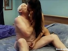 Aged Man Lollipops A Tight Body Chick