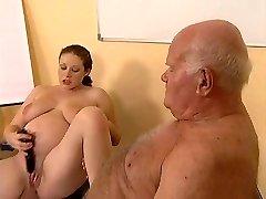 Grandpa Screws Pregnant Teen