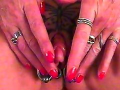 Big Clit Pumped with Tattoo Piercing by snahbrandy