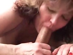 Chubby mature sucking fucking and anal
