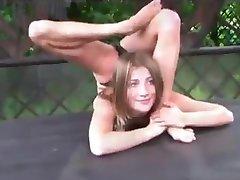 Flexible Gymnast Olesya