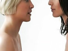 Lesbisk kissing