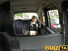 FakeTaxi Skinny blonde swaps ride for a ride