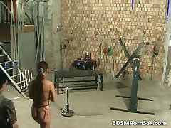 Shocking BDSM session with naked male part6