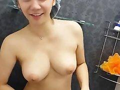 Showering in Hong Kong