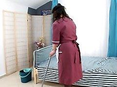 boy drill hairy mature maid