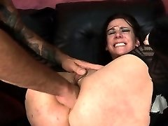 Obedient Dame Gets Anal From Rough Stud