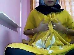 hijab masturbari