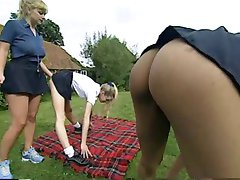 Schoolgirl workout