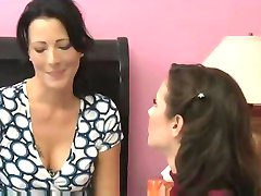 MILF seduces her friend for amazing lesbian sex