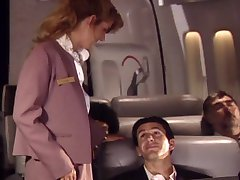 loving flight attendant