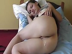 Polish Couple Makes Anal Cream Pie