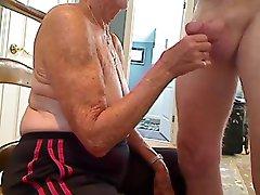 Bestemor 70 y.o blowjob