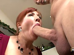 Made for sex milf Brittany Oconnell shows what she does with a cock in her mouth