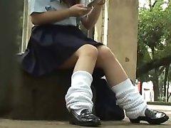 Koulutytöt Underpanties