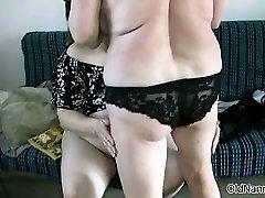 Dirty mature lesbians get horny licking part3